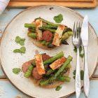 Rabbit and Asparagus