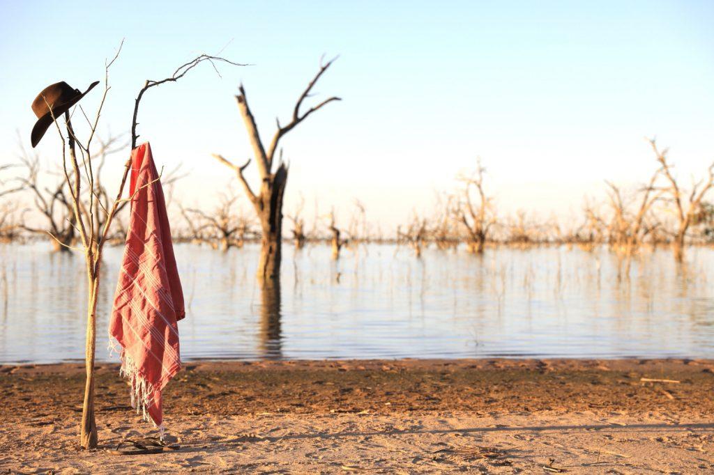 Outback lake