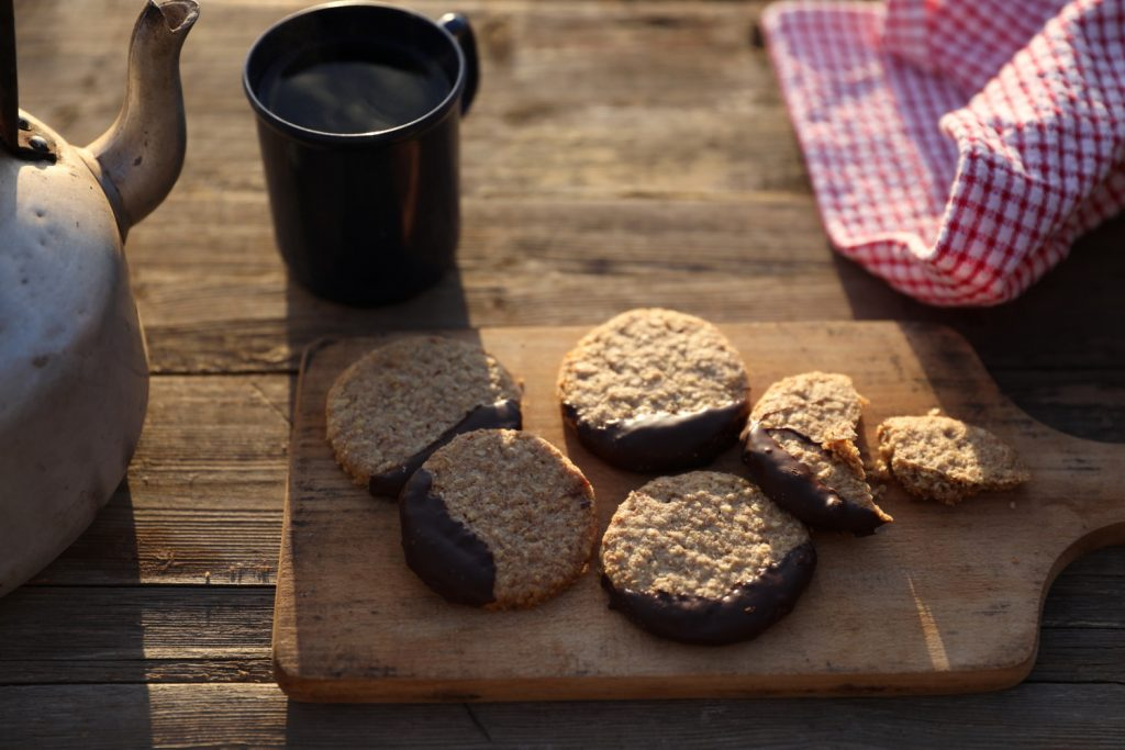 Chocolate Wheaty Biscuits