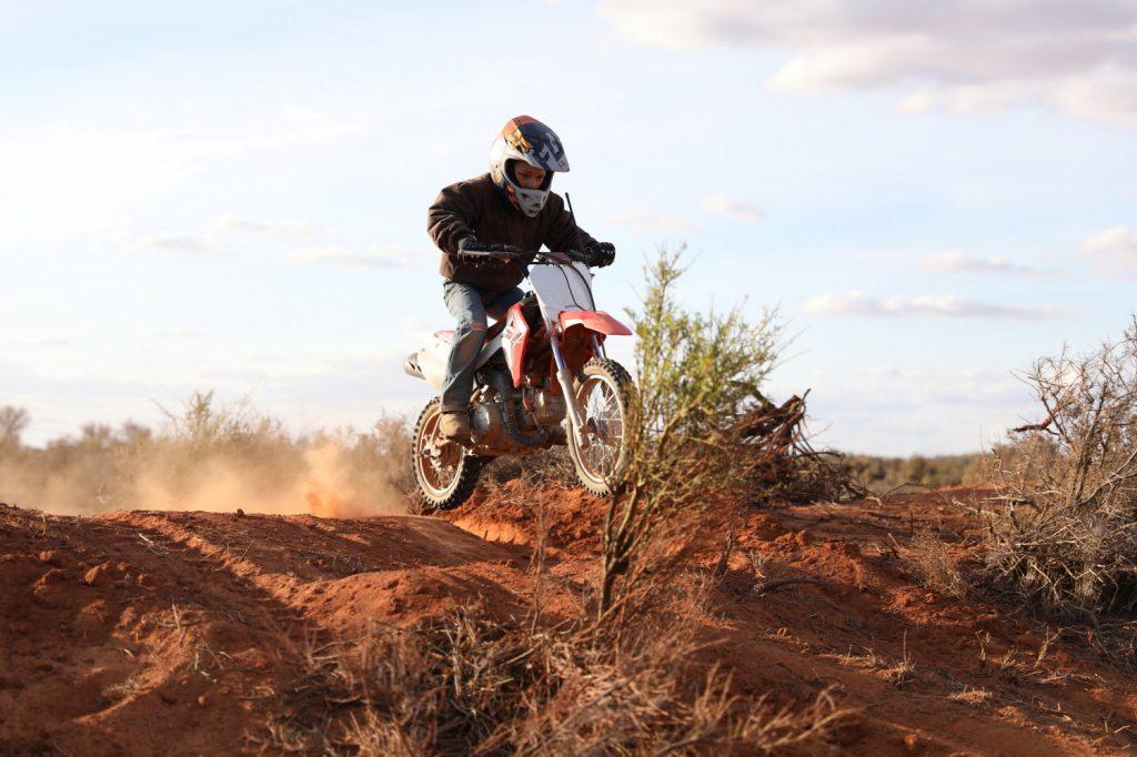 Motorbike track
