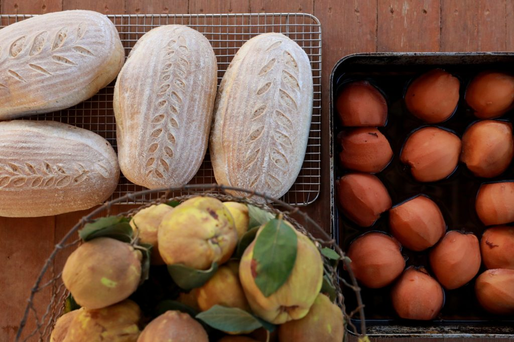 quinces and bread