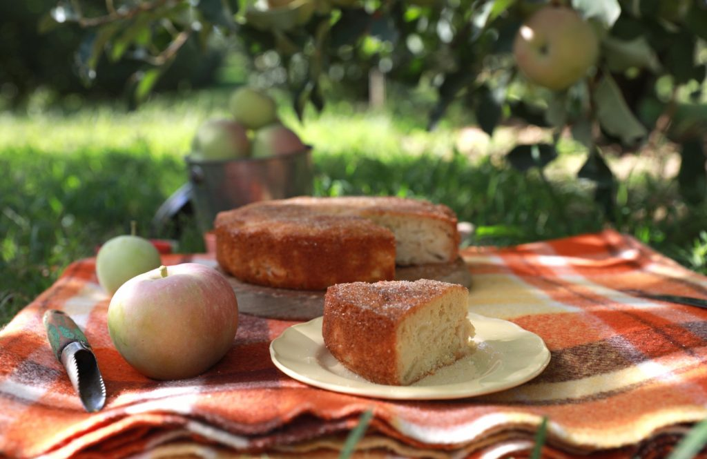 Graziher apple cake